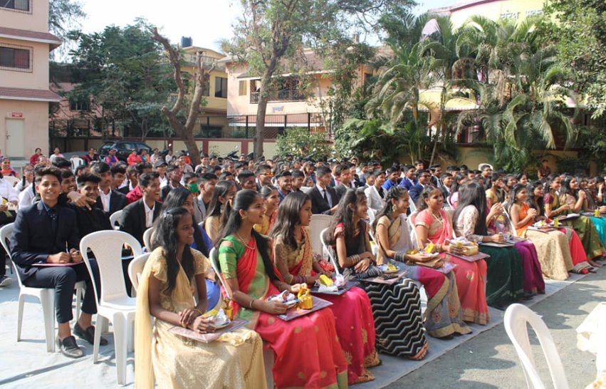 College students in the campus