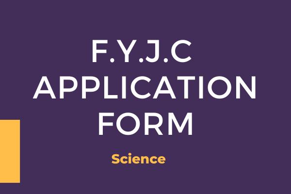 Fyjc application form science
